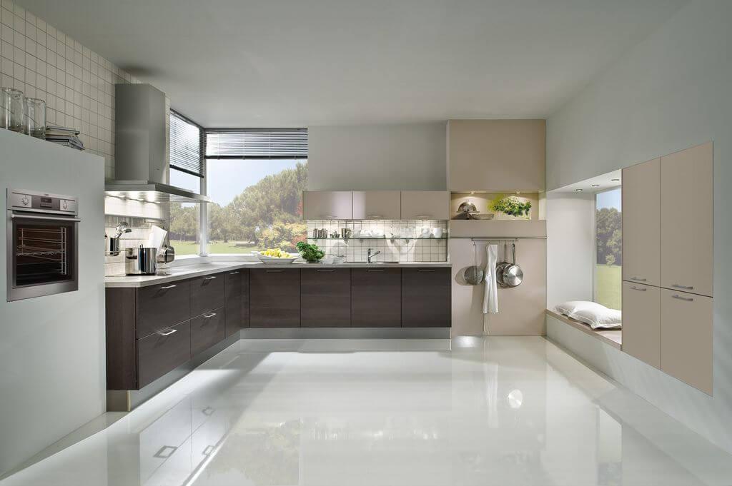 Bodenbeschcihtung Küche