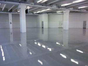 Industriebodenbeschichtung Parkhaus